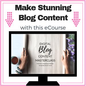 Make Stunning Blog Content